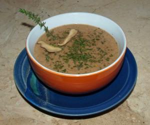 Pilzsuppe vegan kochen
