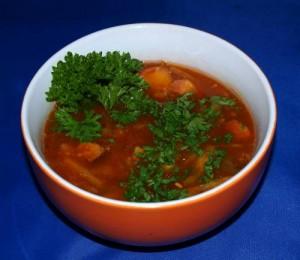 Asia Suppe süß sauer vegan kochen
