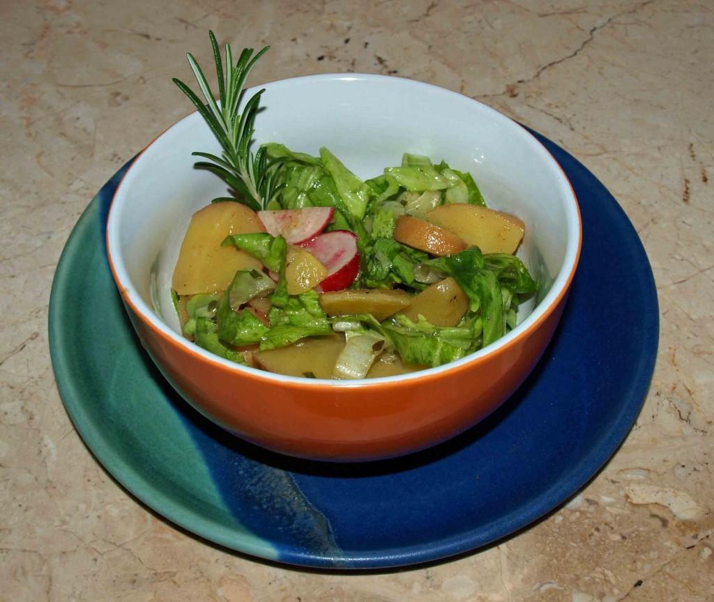 Kartoffelsalat vegan kochen