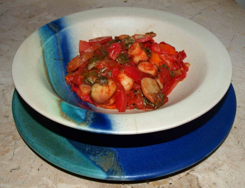 Rote-Bete Kartofelauflauf vegan im Topf kochen