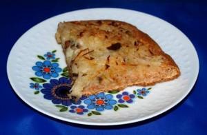 Zwiebelkuchen vegan kochen bzw. backen